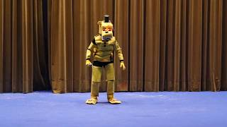 Mangafest 2018 - Concurso cosplay - Golden Freddy - Five Nights at Freddy's