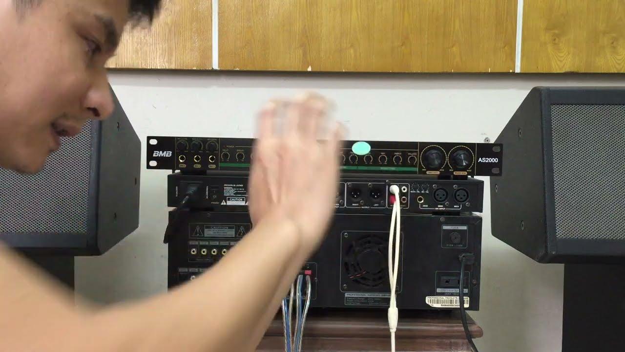 Hướng dẫn cách kết nối vang cơ với amply, nâng cấp amply nghe nhạc và hát hay tuyệt đỉnh