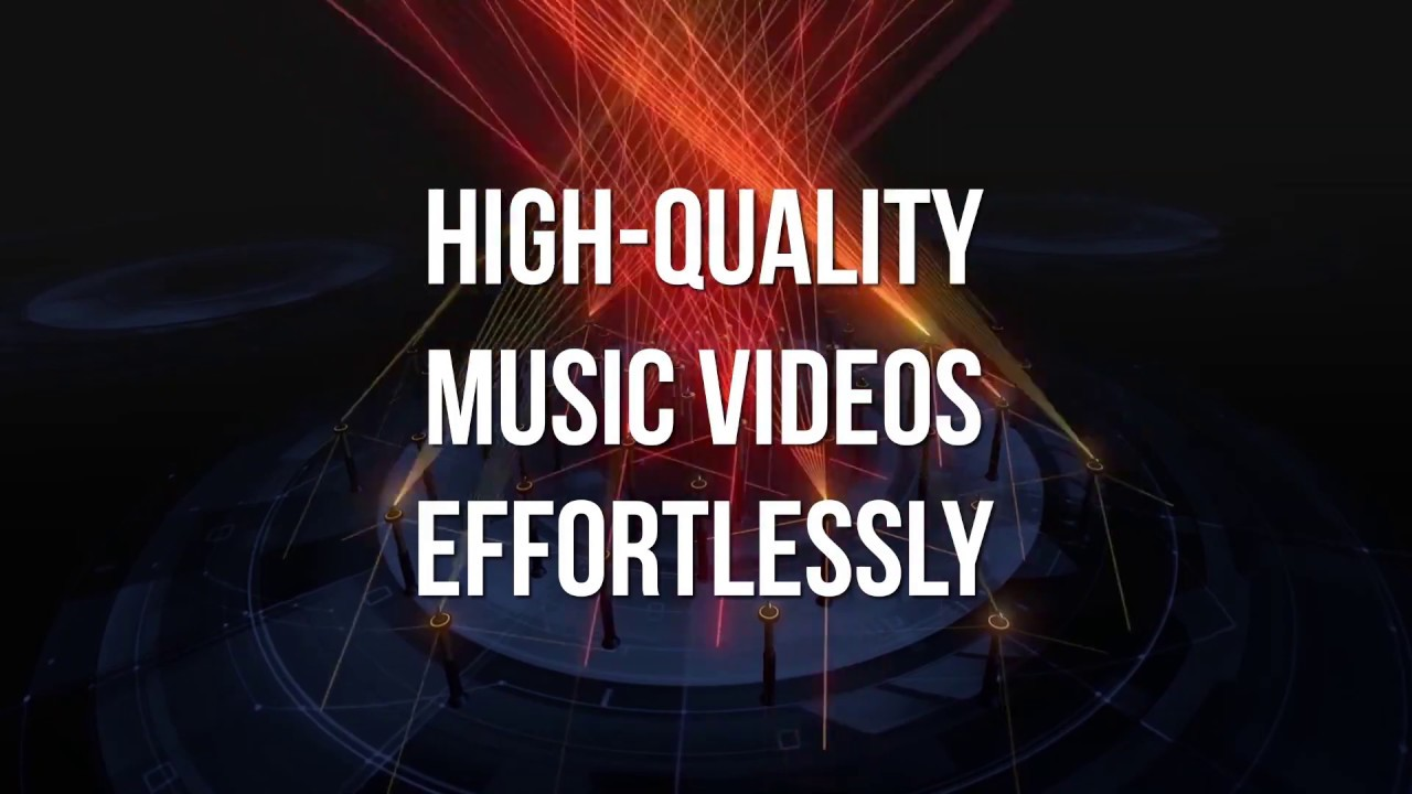 Free Online Music Visualizer Software Try Luminant Music To Easily Create Stunning Music Videos Youtube
