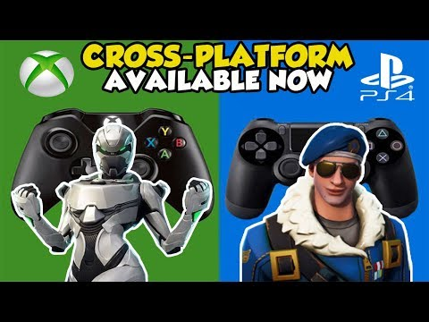 HOW To Enable CROSS PLATFORM Between Xbox And PS4 Players In Fortnite Battle Royale