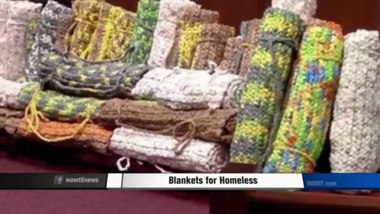 Plastic Bags Turned Into Sleeping Mats For Homeless