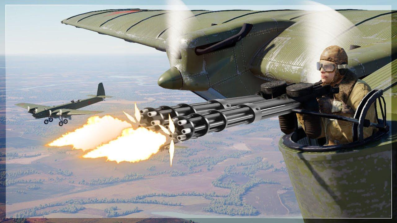 War thunder ac-130 gameplay
