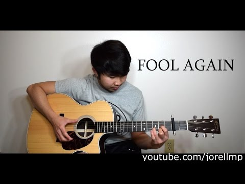 Westlife - Fool Again (Fingerstyle cover by Jorell) INSTRUMENTAL | KARAOKE ACOUSTIC