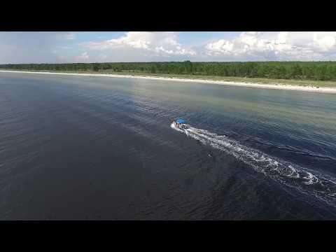 Port St. Joe Florida drone footage
