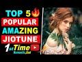 Top 5 New Popular Best Jio Caller Tune Song Jio Tune | Sad Song Jio Tune | Romantic Jio Tune Of Sep