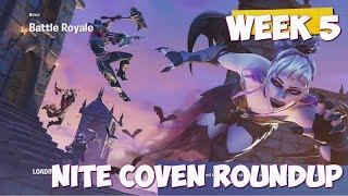 Fortnite Nite Coven Roundup Secret Star Location[#13]