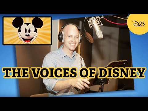 D23 Armchair Archivist: Disney Voice Actors