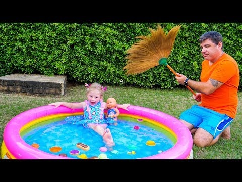 Nastya و papa - أحلام مضحكة واللعب التظاهر