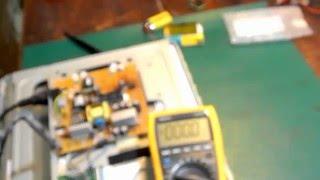 Ремонт монитора BENQ модель Q7T4. Включается и выключается. Часть 1.0