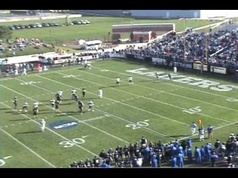 Nick McDonald #77 GVSU Lakers Football 2010 NFL Draft Prospect OL Pt. 2