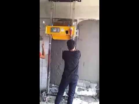 Mobilitas Mesin Plester Dinding/Tembok di Proyek Puri Park View