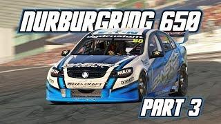 iRacing: Nurburgring 650 - Part 3 (V8 Supercars @ Nurburgring)