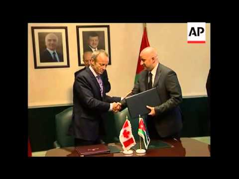 Jordan And Canada Sign Free Trade Agreements Youtube