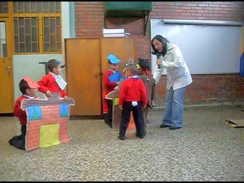 Presentaci n ni os preescolar 2009 youtube for Actividades para ninos de jardin