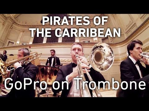 GoPro on Trombone: Pirates of the Caribbean
