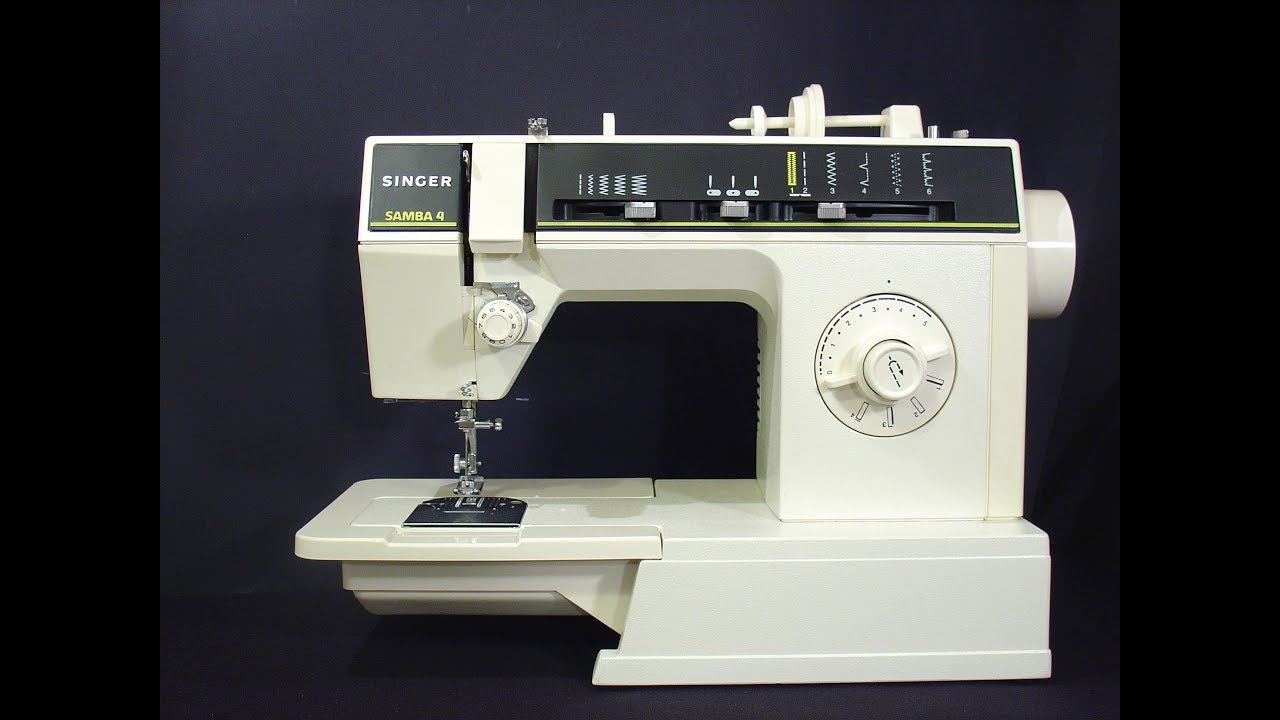 Singer Samba 4 sewing machine - YouTube