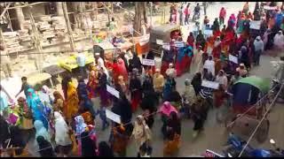 समाचार तीन तलाक बिल के खिलाफ मुस्लिम महिलाओं ने किया विरोध प्रदर्शन