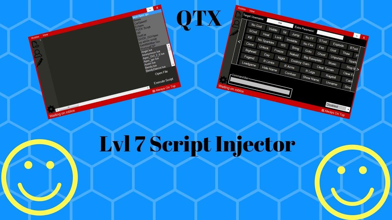 NEW] OP ROBLOX HACK/EXPLOIT | QTX | LEVEL 7 SCRIPT EXECUTOR/FREE