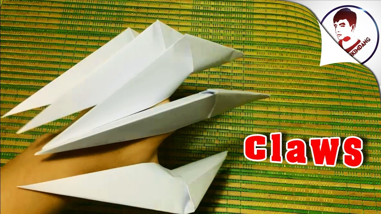 how to make origami dragon claws