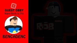 ROBLOX GUEST OBBY | TRICKS OF MAKING NOOB TO PRO