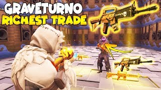 NEW MYTHIC Graveturno is REAL?! 😱 (Scammer Gets Scammed) Fortnite Save The World