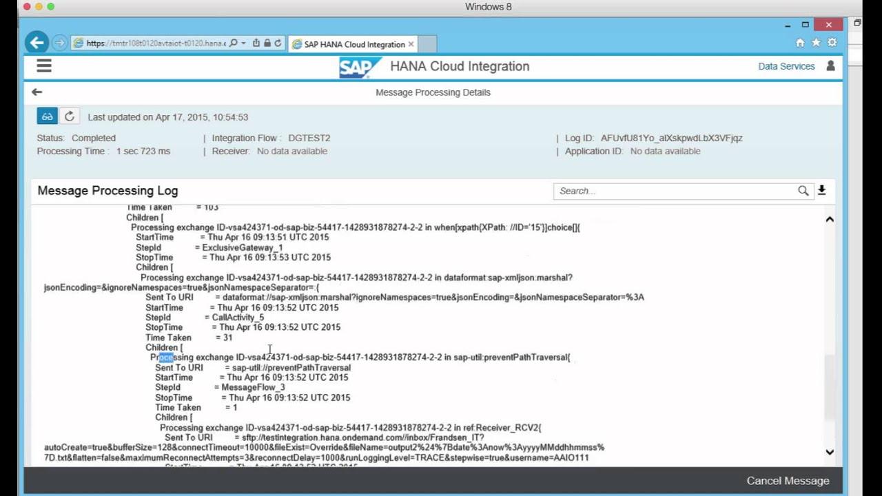 SAP HCI Trial - SAP PI Course