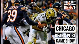 Pat the designer reacts to new orleans saints vs chicago bears game . and wants hear your thoughts on as well .martinelli original's https:/...