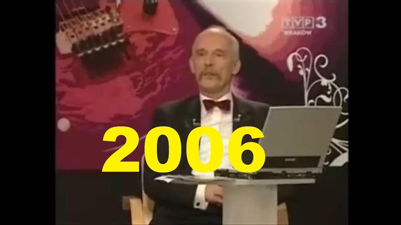 Pierwsza wizyta Janusza Korwin-Mikkego w Młodzież kontra 31.12.2006