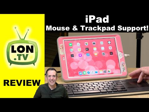 Non-Apple Mouse & Trackpads On The IPad : Not As Good As Apple's Trackpad Full Mouse Support Review