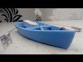 Поделки - Самодельная лодка на веслах