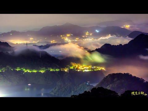 石門水庫-英仙座星空-小雲瀑   Time Lapse 拍攝:悟空大師