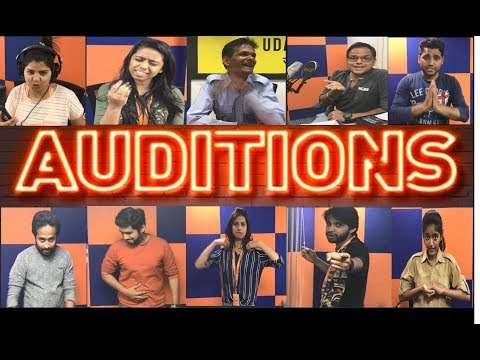 Audition Video at Radio City Office | World Theatre Day Casting  - Raees Dialogue