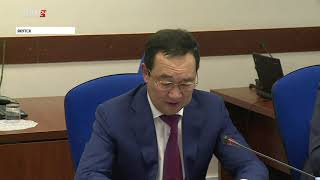 Айсен Николаев и Александр Крутиков обсудили реализацию госполитики по развитию Арктики