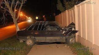 В Туле пьяный водитель протаранил забор медучреждения