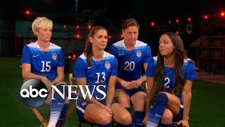 US Women's Soccer Team Faces Colombia in Round of 16 Matchup