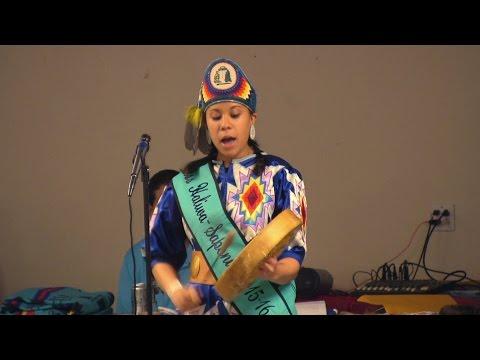 Miss Haliwa-Saponi 2015-16 Hand Drum