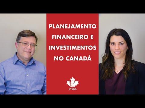 PLANEJAMENTO FINANCEIRO E INVESTIMENTOS NO CANADÁ