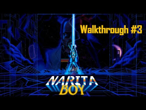 Narita Boy - Masterpiece - Walkthrough #3 - No Commentary - Spanish Dialogs - IDC Plays