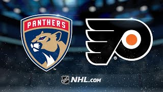 Flyers score four straight to top Panthers, 5-1