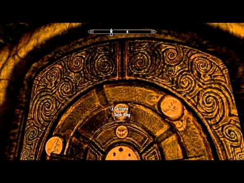 SKYRIM: The World-Eater's Eyrie Quest -  The Diamond Claw Puzzle 4 Solved
