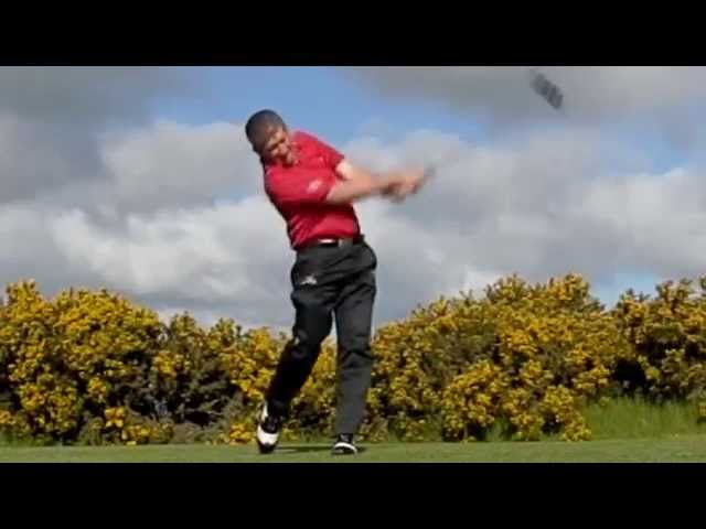 Paul Barrington Golf Trick Shots