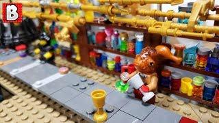 LEGO Star Wars Biker Bar Custom Build  PART 1 | Time Lapse