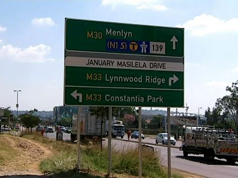 Pretoria street names cause confusion