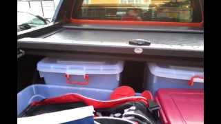 Armadillo Motorized Roller Cover demo for Ford Ranger T6