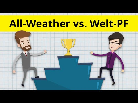 All Weather Portfolio vs. Kommer Weltportfolio - Welche Strategie ist besser? inkl. Musterportfolio