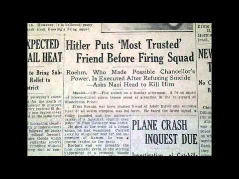 sa purge june 1934 On 4th june, 1934, hitler held a five-hour meeting with röhm according to   the purge of the sa was kept secret until it was announced by hitler on 13th july.