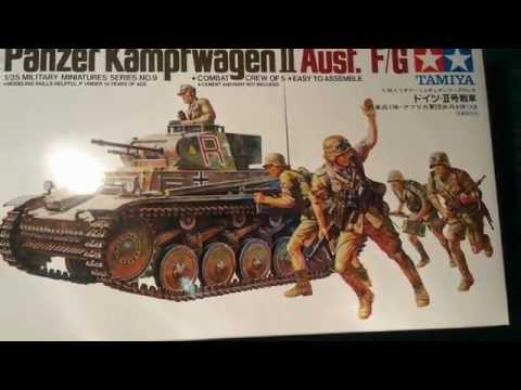 Tamiya 1/35 Panzer 2  Afrika Korps Pt.1