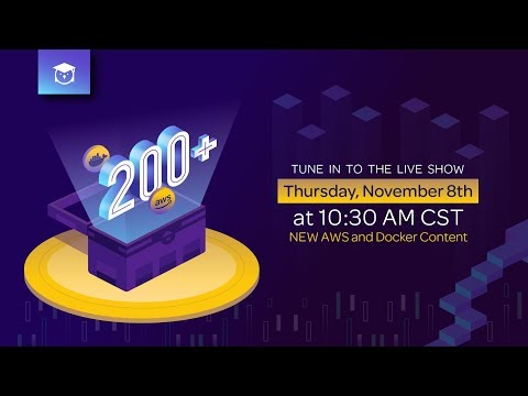 New AWS & Docker Training | The Great 200+ Live Show