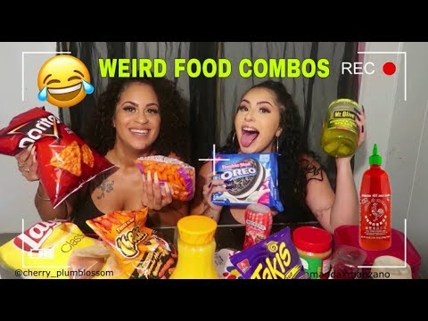 TRYING WEIRD FOOD COMBINATIONS PEOPLE LOVE !