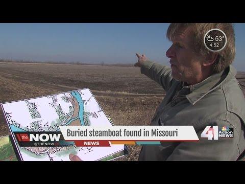 Buried steamboat found in Missouri